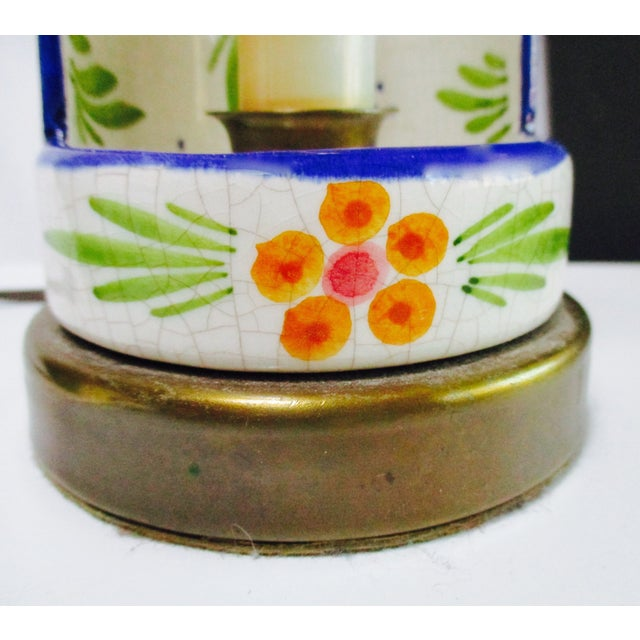Boho Glam Ceramic Antique Candle Light - Image 8 of 10