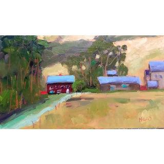 Bodega Bay Farm Painting