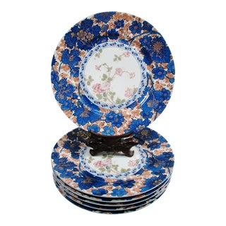 Haviland China Dammouse Dinner Plates - Set of 6