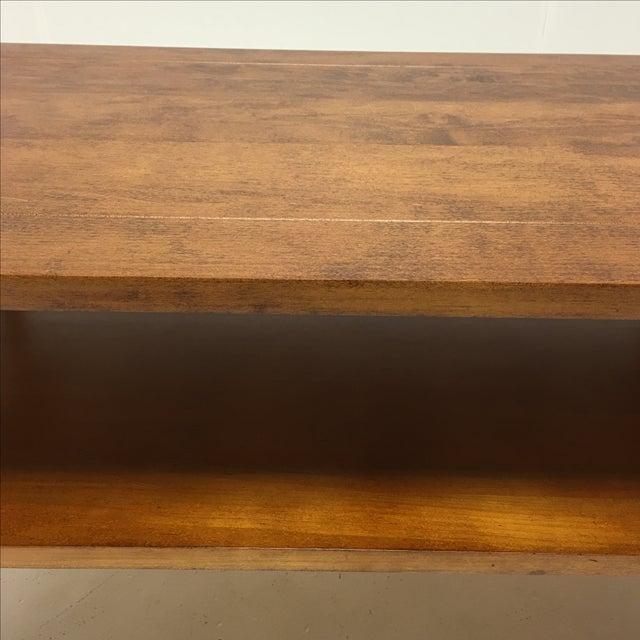 Vintage Maple Coffee Table