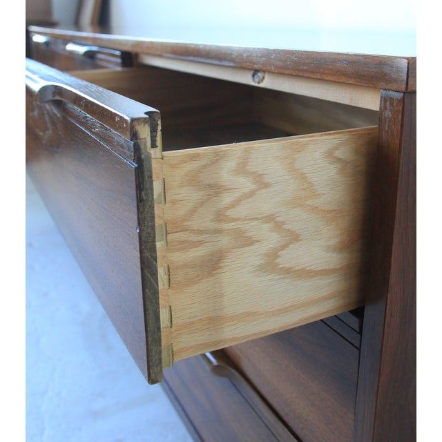 Image of Mid-Century Modern 9-Drawer Dresser
