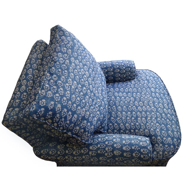 Soane Paw Print Upholstered Chair & Ottoman - Image 5 of 5