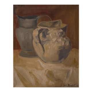 """Two Water Vessels"" Oil Painting"
