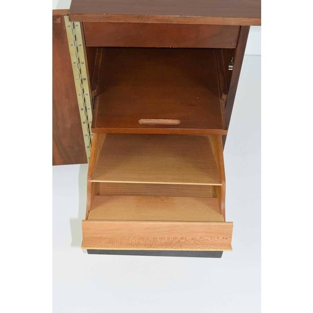 Greta Grossman Walnut Desk by Glenn of California - Image 5 of 7