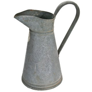 French Zinc Milk Pitcher
