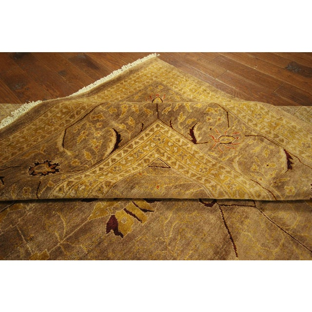 """Oushak Collection Brown Rug - 12'1"""" x 15'10"""" - Image 9 of 10"""