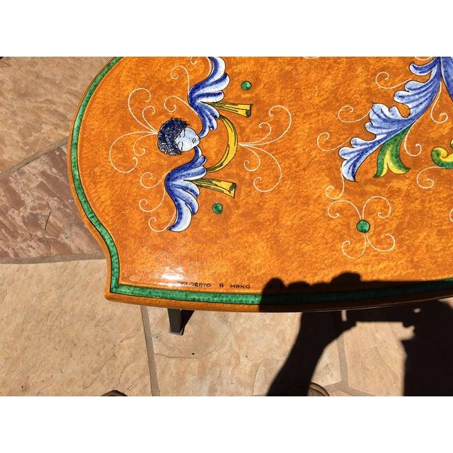 Ceramiche Casola Ceramic Oudoor Dining Set