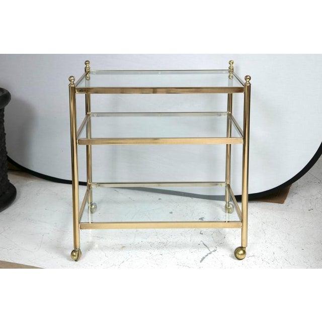 Brass Bar Cart - Image 2 of 5