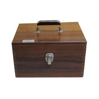 Scientific Apparatus in Walnut Carrying Case