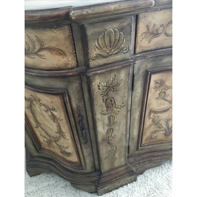 Hooker Furniture Hand Painted Buffet - Image 4 of 9