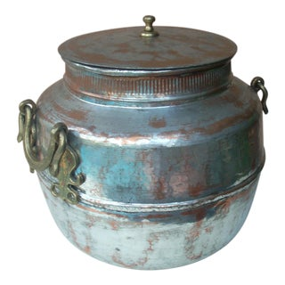 Turkish Copper Oversize Pot