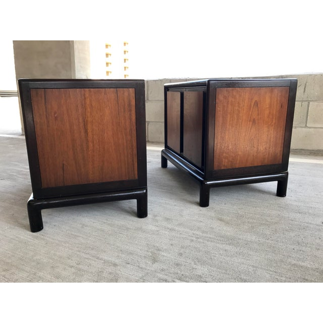 Image of Thomasville Asian-Inspired End Tables