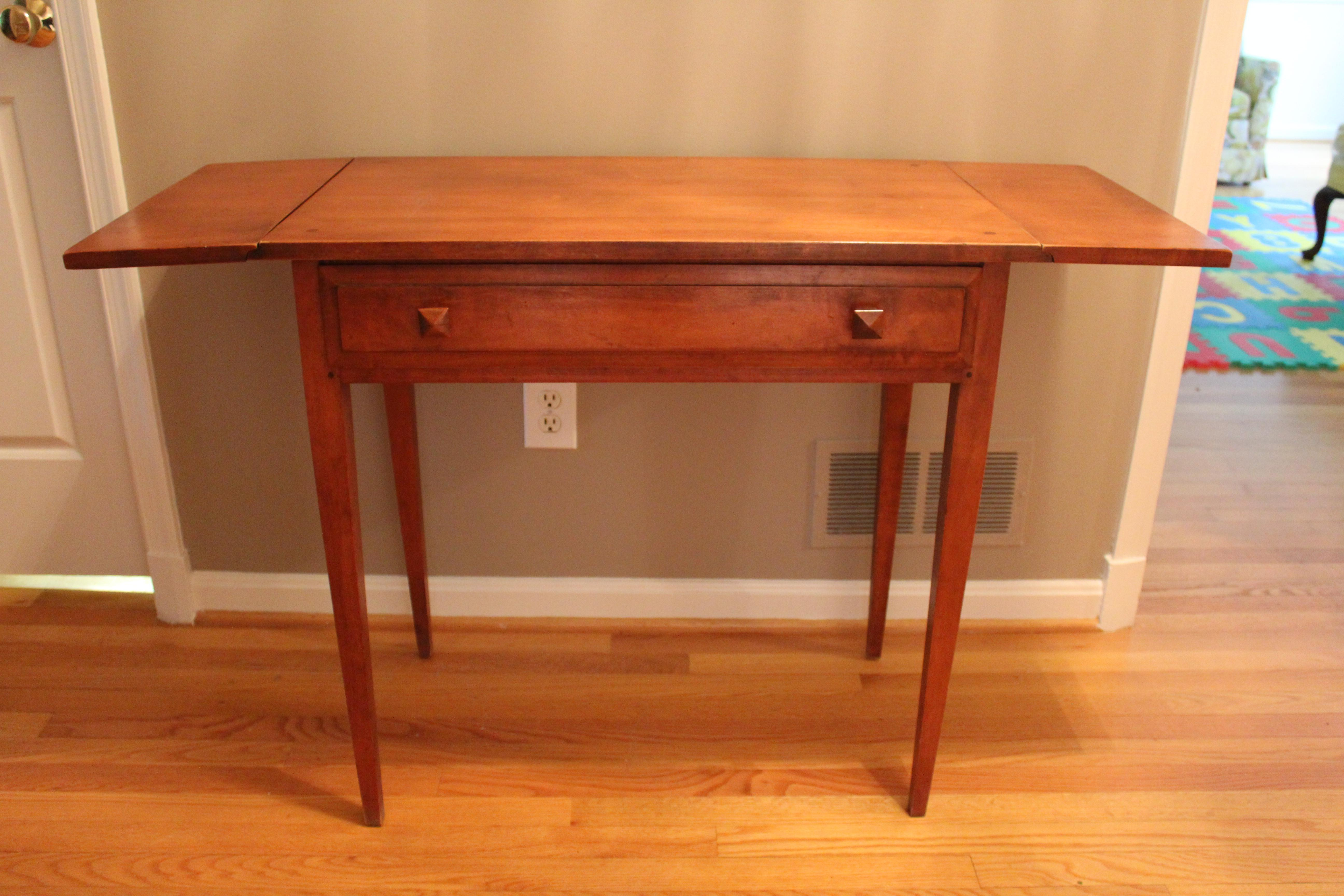 Good Trutype Maple Console Table   Image 4 Of 9