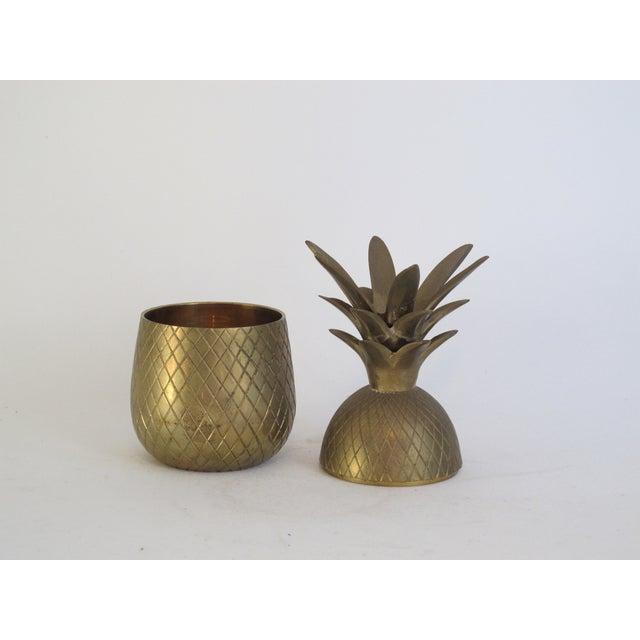 Image of Brass Pineapple Box