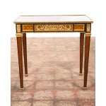 Image of 19th C. Louis XVI Bronze Mounted French Side Table