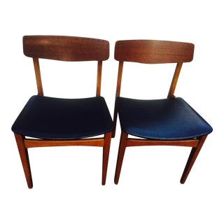 Mid-Century Modern Dining Chairs- A Pair
