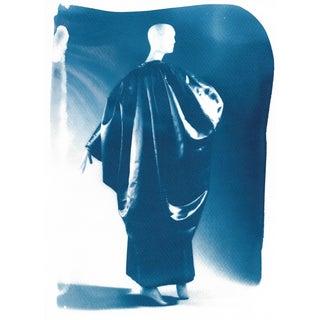 Cyanotype Print, Balenciaga Gown