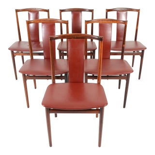 Henning Sørensen Rosewood Dining Chairs - Set of 6