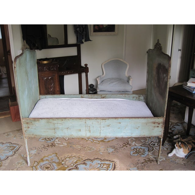 Image of 19th Century Metal Iron Daybed Eastern European