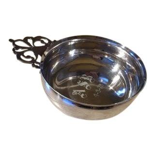 Lunt Vintage Silver Plated Porringer Bowl