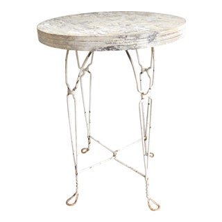 Vintage Ice Cream Parlor Table