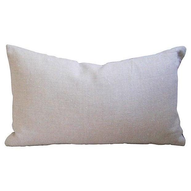 Swiss Wool Appliqué Cross Pillow - Image 2 of 4