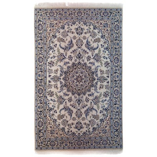 "New Traditional Hand Knotted Area Rug - 3'9"" x 6'"