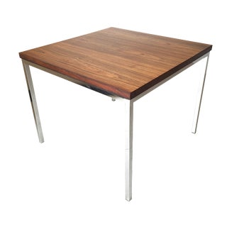 FLorence Knoll Floating Top Rosewood Table