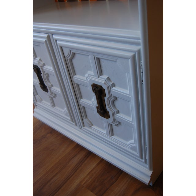 Painted Mid Century Shelving Unit - Image 8 of 8