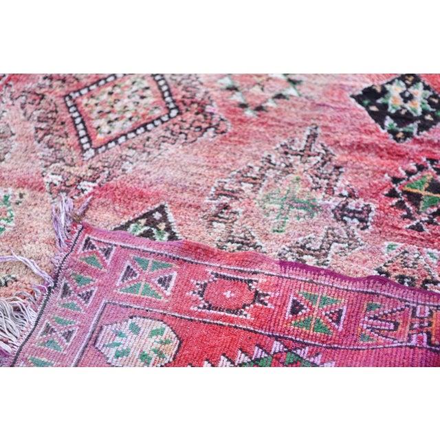 Vintage Moroccan Boujaad Rug 9'4 x 6'3 - Image 5 of 6