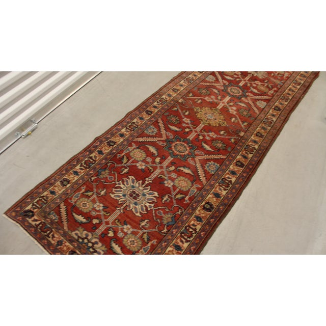 Red Foyer Rug : Persian red hallway rug  chairish