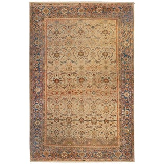 Exquisite Early 20th Century Mahal Rug