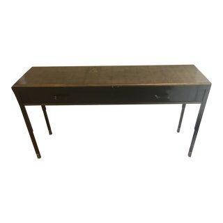 Basalt Top Console Table