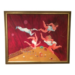 """Modern Contemporary Painting """"The Flying Bellissimos"""""""