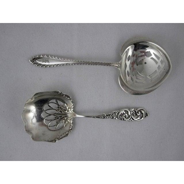 Victorian Sterling Silver Pierced Bon-Bon Servers - Set of 4 - Image 6 of 10