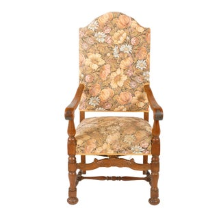 Baroque Needlepoint Armchair