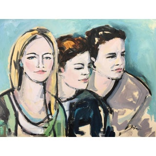 Portrait of Three Women Painting