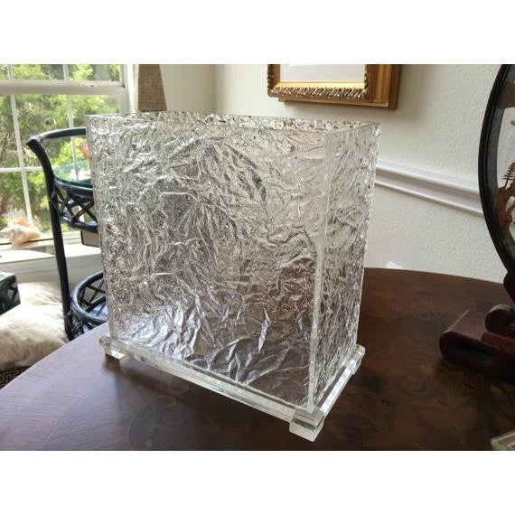 Lucite Ice Waste Bin - Image 6 of 6
