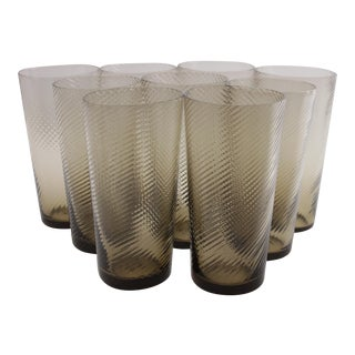 Mid-Century Small Tumblers - Set of 9
