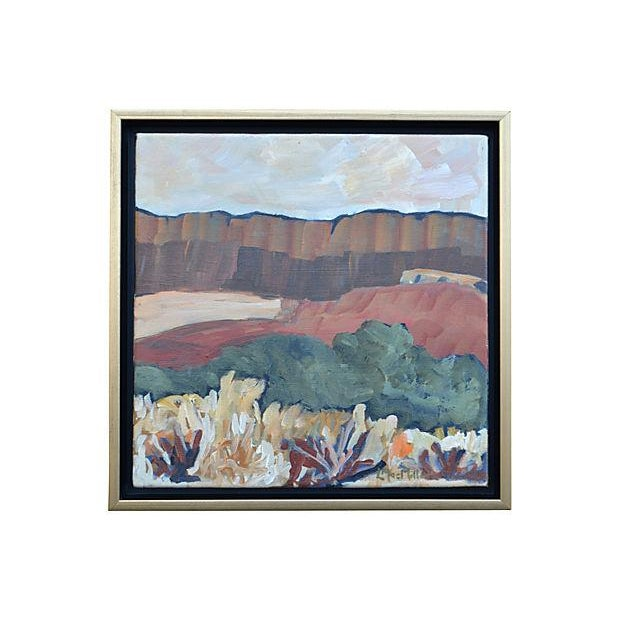 """Laurie MacMillan """"The Piano Ridge"""" Painting - Image 1 of 2"""
