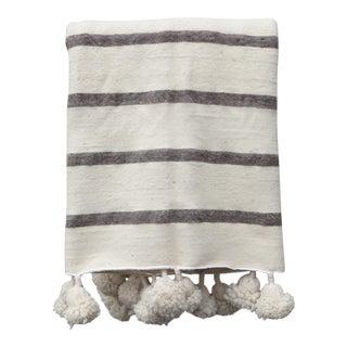Moroccan Pom Blanket