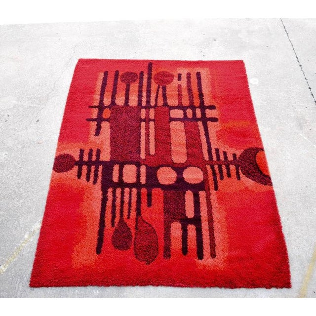 Large Bright Colorful Rug by Ege Rya - Image 5 of 5