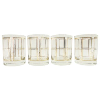 Georges Briard Mid-Century Low Ball Glasses - 4