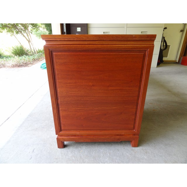 Solid Rosewood Credenza or Desk - Image 7 of 8