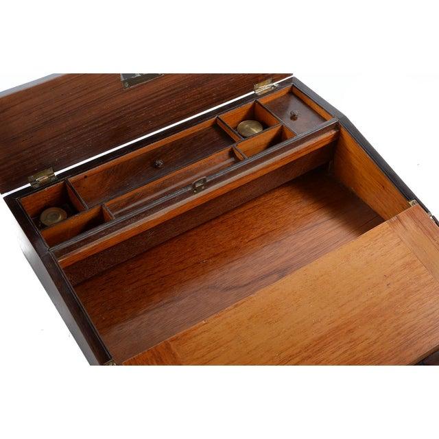 Antique Victorian Wooden Lap Desk - Image 5 of 9