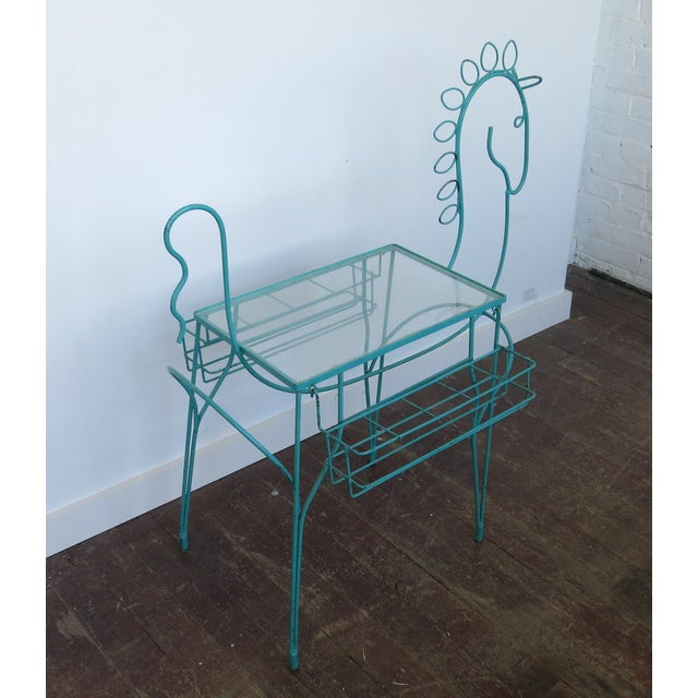 Frederick Weinberg Side Table Bar Cart - Image 2 of 7
