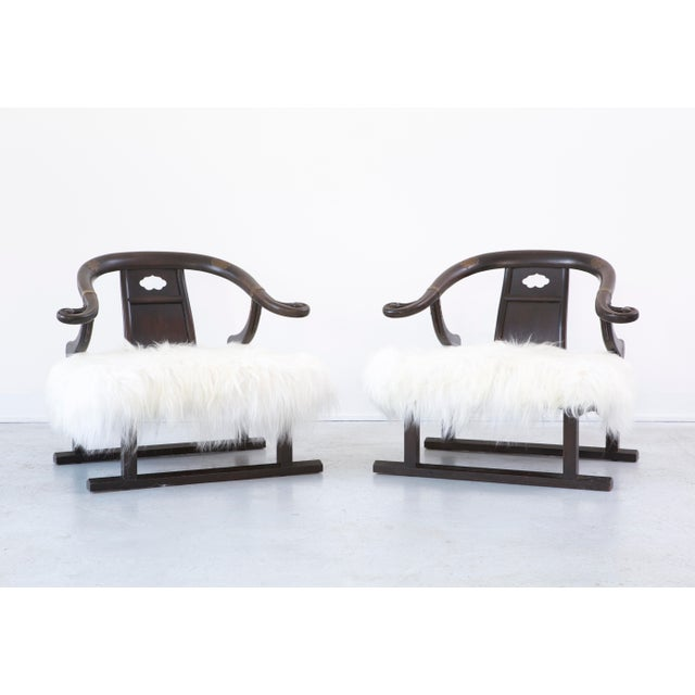 Image of Pair of Michael Taylor for Baker Furniture Lounge Chairs