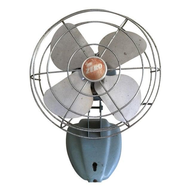 Vintage Mid-Century Oscillating Fan - Image 1 of 8