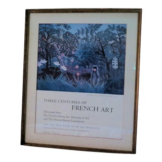 1973 Original French Art Poster