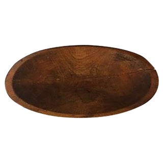 Antique Wood Dough Tray